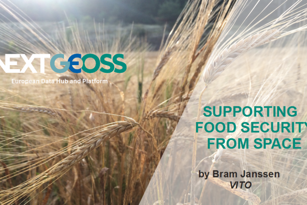 NextGEOSS supporting Food Security