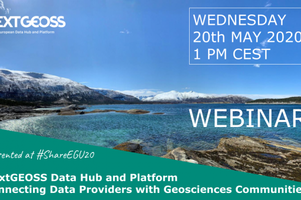 NextGEOSS webinar May20