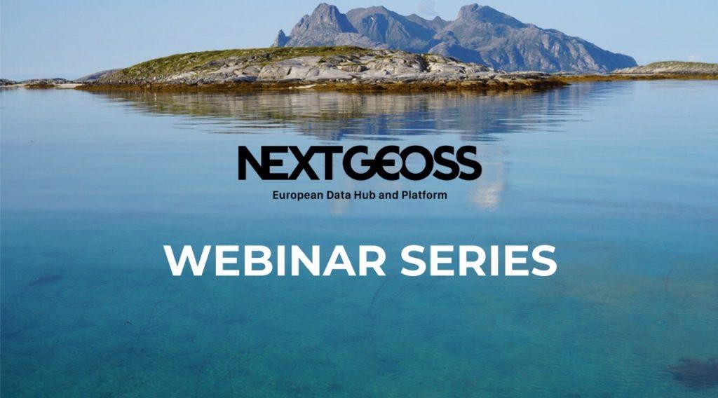 NextGEOSS webinar series
